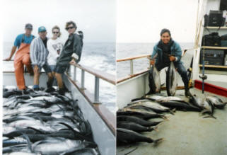 Ocean party boat oregon charters fishing for Oregon fishing license price